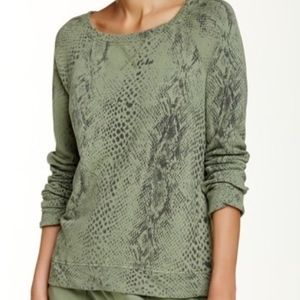 Soft Joie | Darilynn B Print Sweatshirt Top L